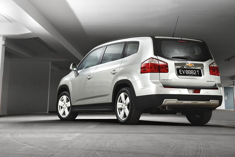 chevrolet orlando rear static