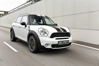 mini cooper s countryman 2wd front tracking