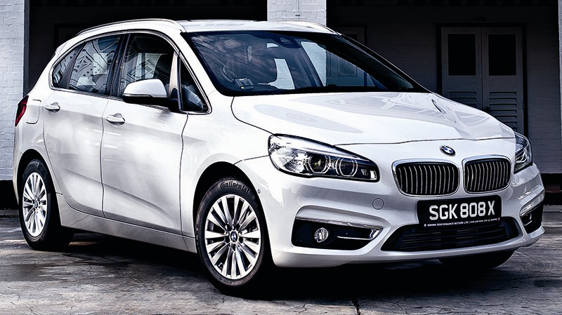Bmw 218i Active Tourer Review Torque