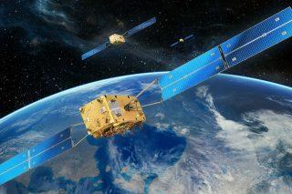 car gps satellite image