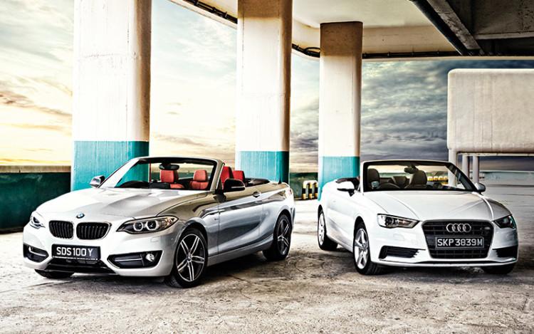 BMW-220i-Convertible-vs-Audi-A3-Cabriolet_1
