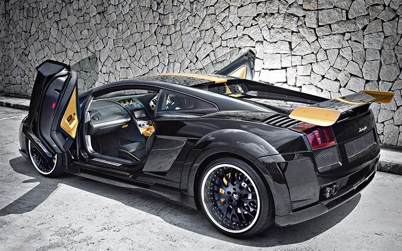 Modified Car Lamborghini Gallardo Torque