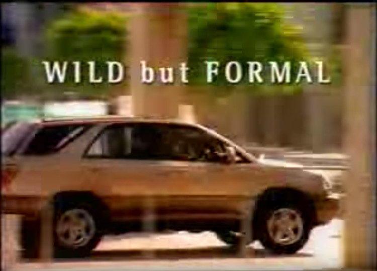 toyota harrier 'wild but formal' screencap3