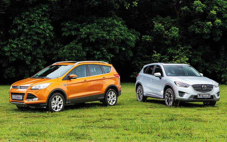 Group Test: Ford Kuga 1.5 versus Mazda CX-5 2.0   Torque