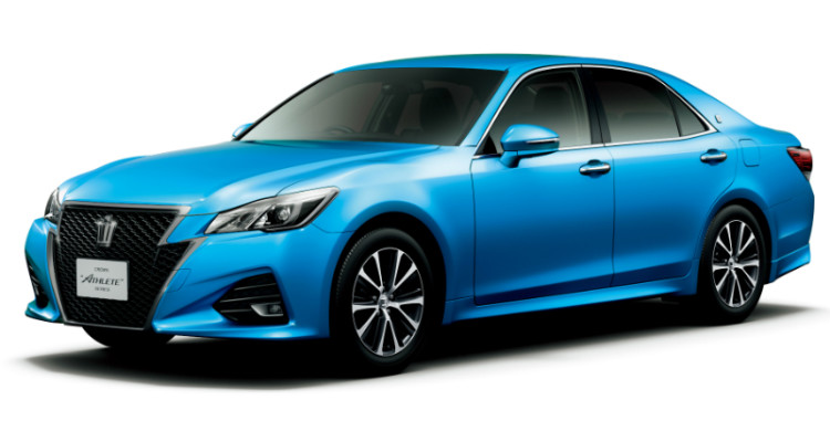 Toyota Crown_front