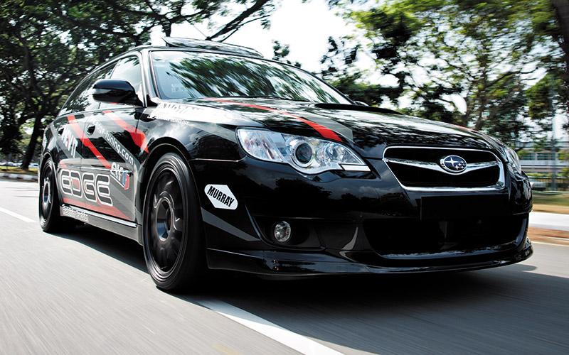 Subaru legacy modified