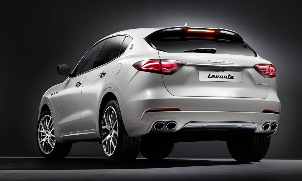 """Sports utility"" doesn't come much sportier than the sporty Levante."