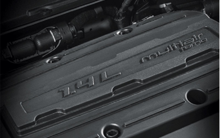 The turbocharged 1.4L is ideal for our cc-sensitive market.