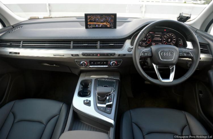 Audi Q7_cockpit
