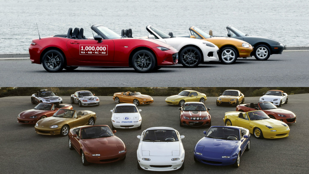 One million MX-5s built and counting.