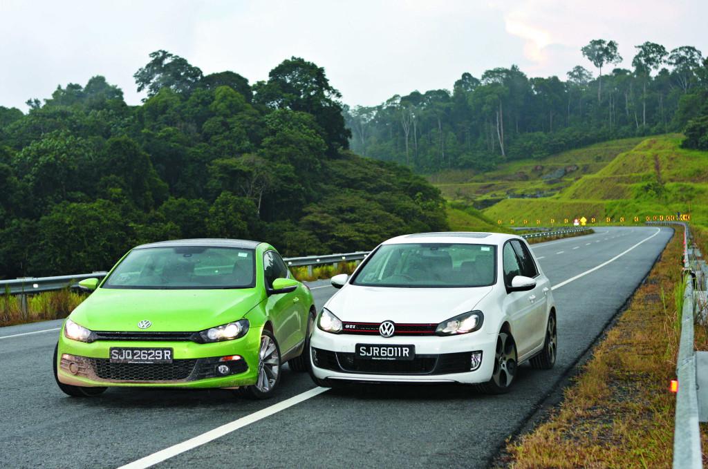VW Golf GTI versus VW Scirocco Sport 2 0 | Torque