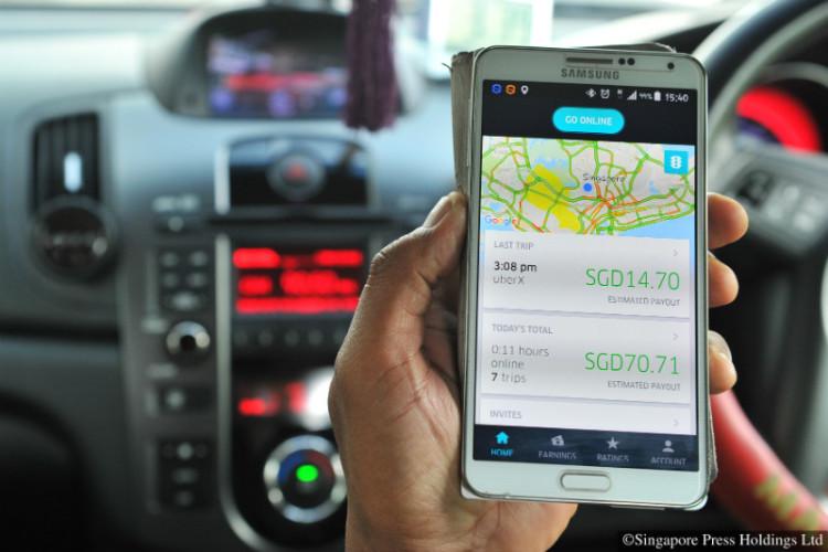 private-hire driver app