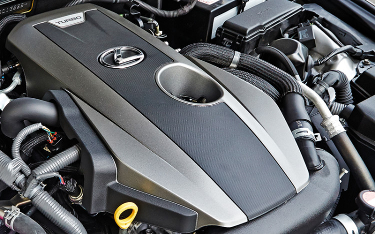 IS200t's powertrain is more flexible and keener to rev.