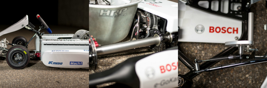 bosch, electric powetrain, racing kart, race kart, electric kart, electric race kart, e-kart pic3