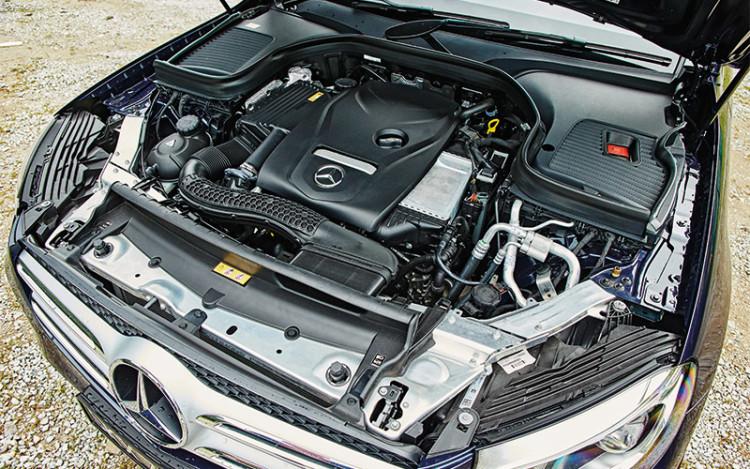mercedes-benz glc250 engine