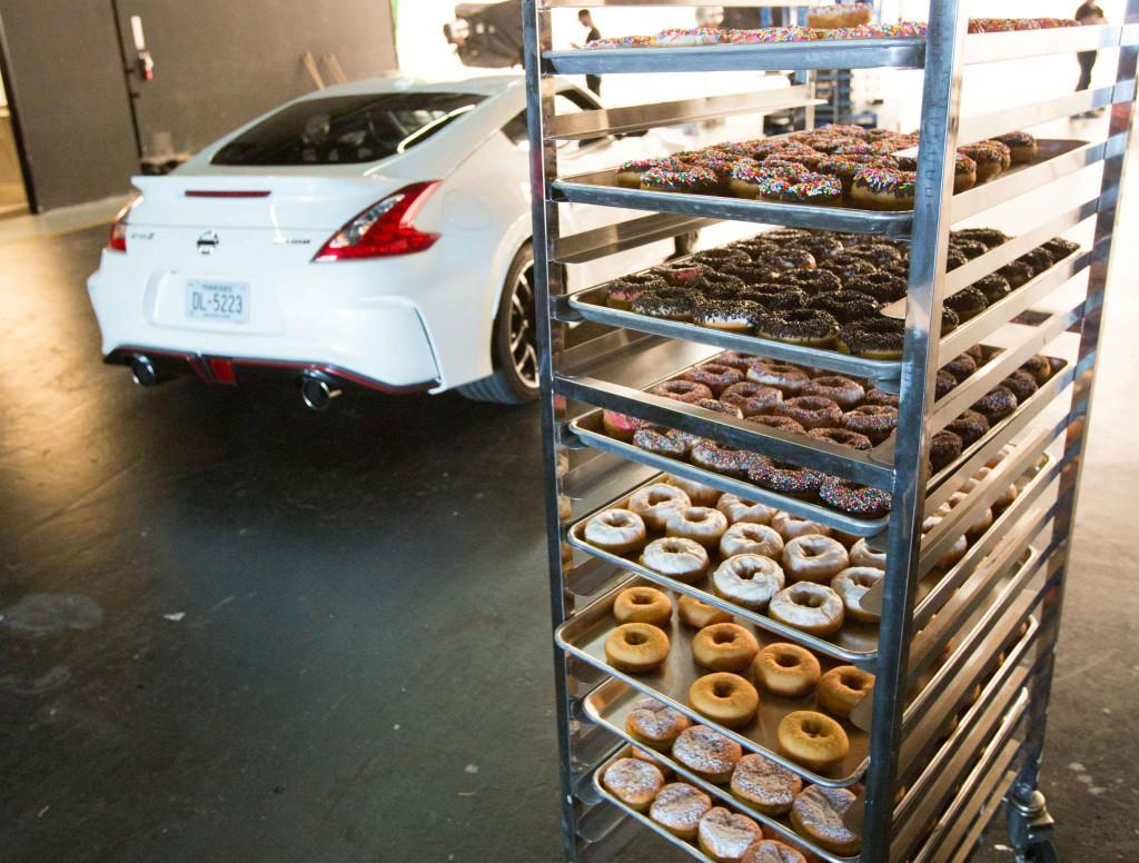 nissan, 370z, nismo, nissan 370z nismo, donuts, doughnuts, usa, california, formula drift, chris forsberg pic3