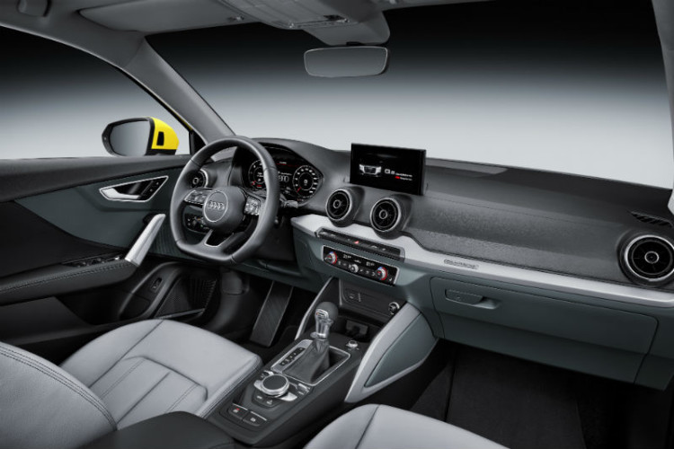Audi Q2 cockpit