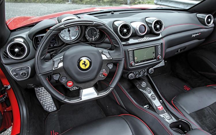 ferrari california hs cockpit
