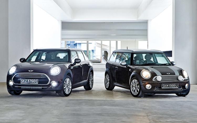 new mini clubman vs old mini clubman 1