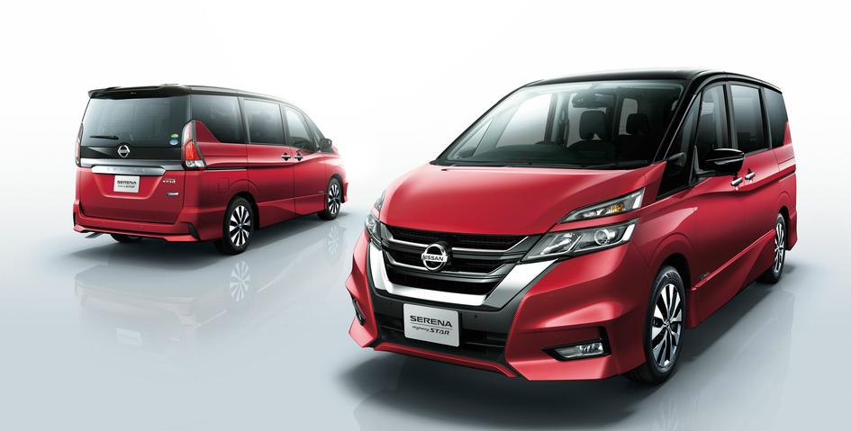 nissan, serena, nissan serena, mpv, minivan, propilot, autonomous drive pic2