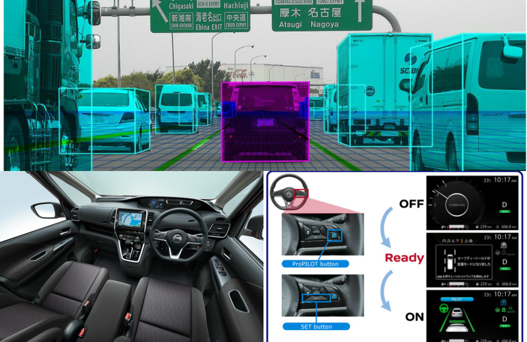 nissan, serena, nissan serena, mpv, minivan, propilot, autonomous drive pic3