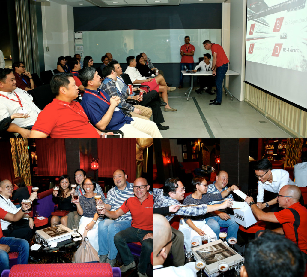 """Audi Sport Holds First """"Tech Talk"""" In Singapore"""