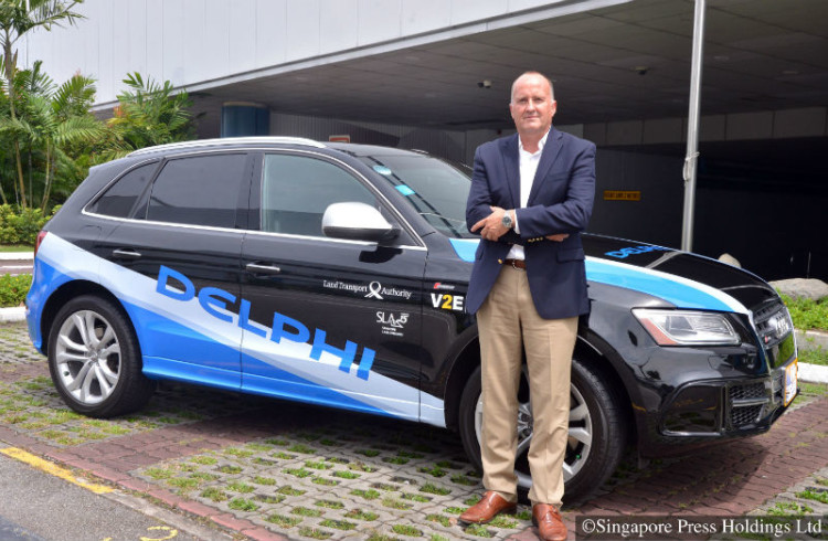 Delphi services vice-president Glen W. De Vos expects its cars to be able to take on rush-hour traffic.
