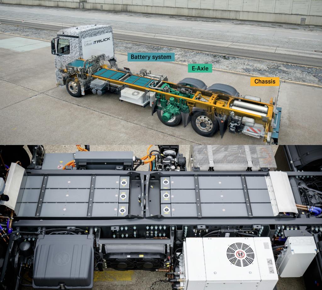 mercedes-benz, urban e-truck, mercedes-benz urban e-truck, electric drive pic2