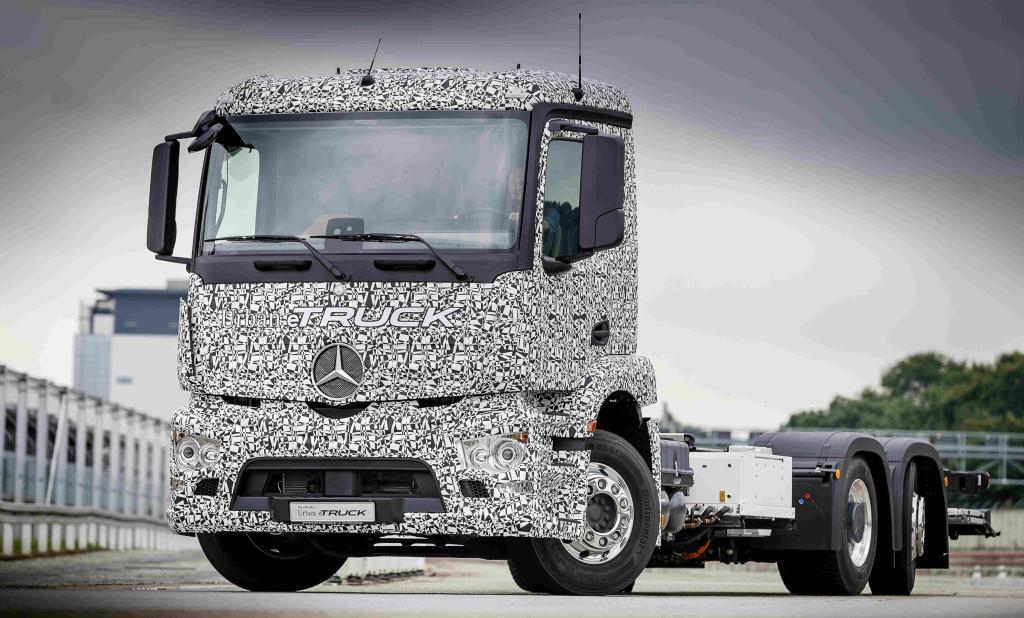 mercedes-benz, urban e-truck, mercedes-benz urban e-truck, electric drive pic3