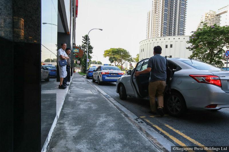 carpooling illegal drivers caught