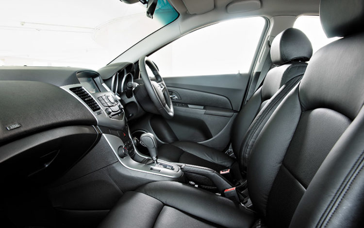 CRUZE - Cockpit is the most attractive, but also feels the most compact. Seats are properly bolstered and offer good lumbar support, but could be wider to accommodate expanding waistlines.