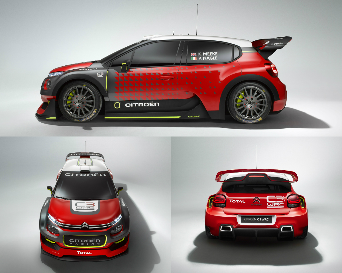 citroen c3 wrc concept racecar at paris motor show 2016 torque. Black Bedroom Furniture Sets. Home Design Ideas