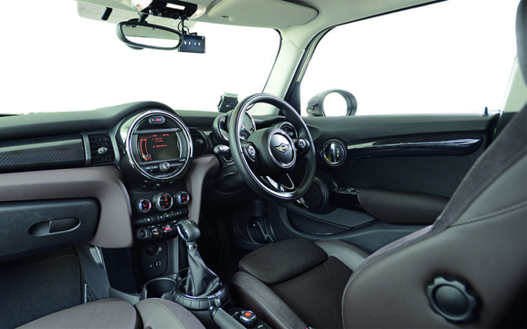 """MINI Cooper 5-Door's cockpit is the most stylish and driver-focussed, as the gearbox's manual override points are """"correctly"""" located and the seats are the only ones with extendable thigh-rests."""