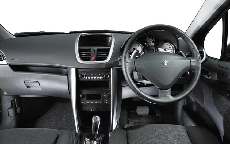 207 - Its cockpit provides the best seat bolstering and outward visibility, but its satellite stalk that controls the hi-fi is less intuitive than the Clio's fingertip remote. The chilled glovebox is the smallest, but it has an open shelf above and the front door bins are the biggest.