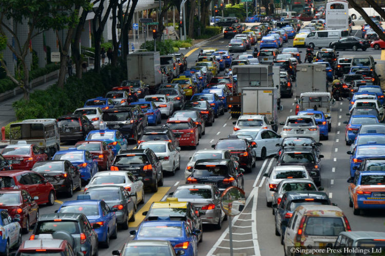 Traffic congestion may be a thing of the past with increased vehicle-sharing.