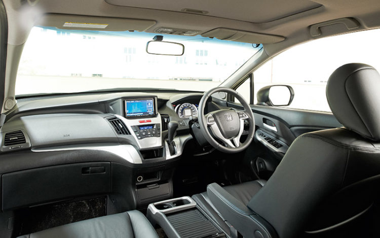 ODYSSEY - Most car-like cockpit of the group, complete with plush seats and the widest footrest, is most welcome on long drives, but the dashboard's brittle plastics affect the perception of quality.