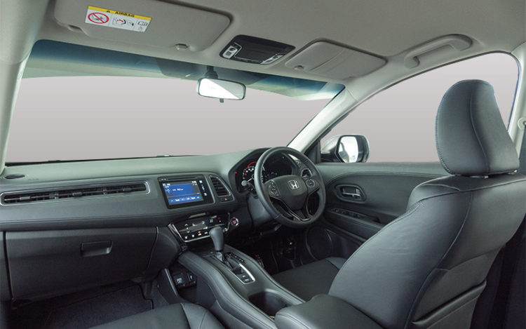 HR-V's cockpit is the most driver-friendly, with the most intuitive infotainment, the nearest gearlever and an additional kerbside mirror to assist with parallel parking. The air-conditioning is also the most effective.