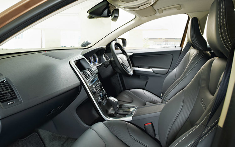 XC60 - Best choice for long drives as it has the comfiest seats and best all-round visibility. Build quality seems to be the most solid, too, with doors that open and close in a convincing manner.