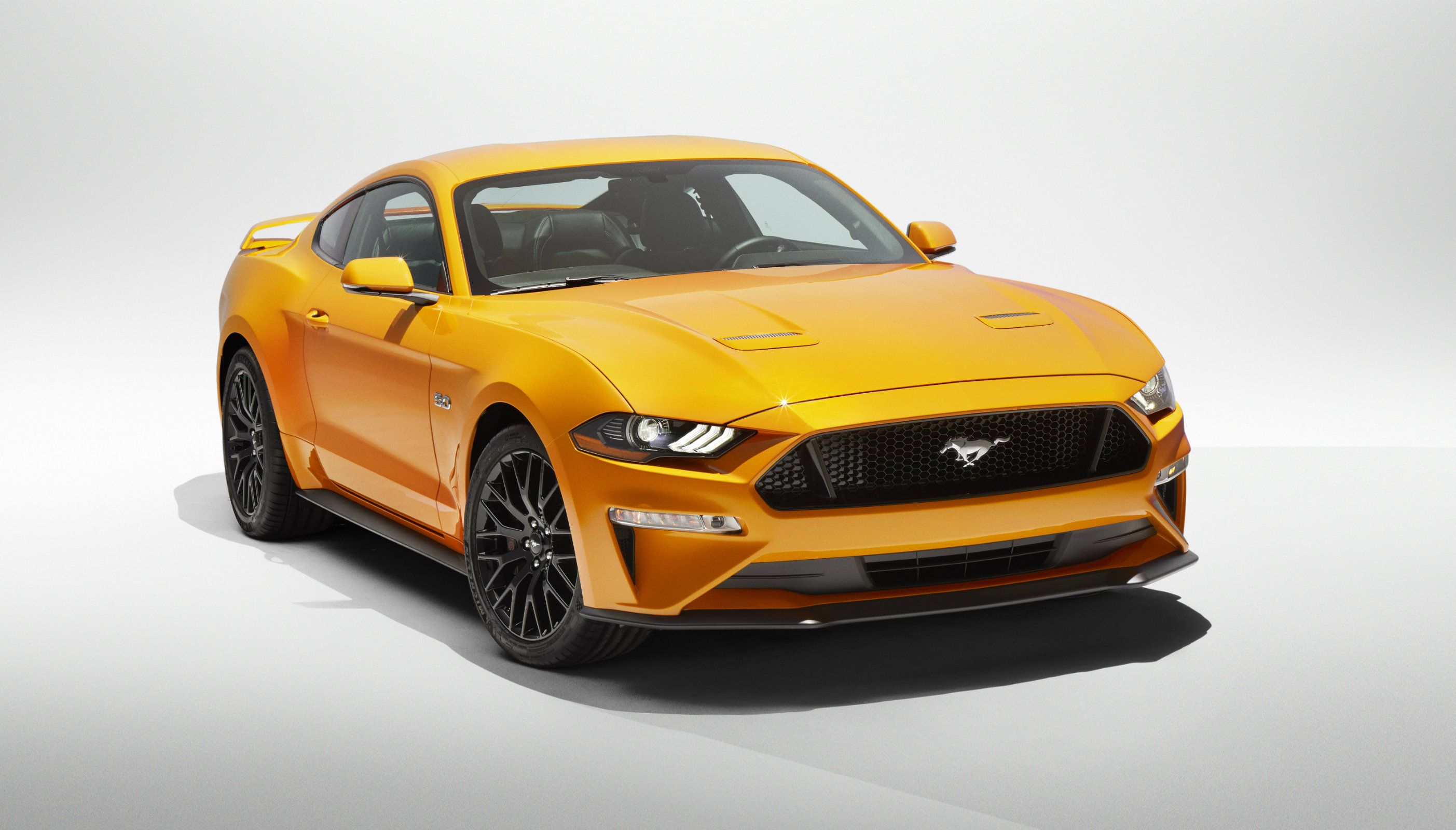 Ford mustang updated for 2018 model year torque