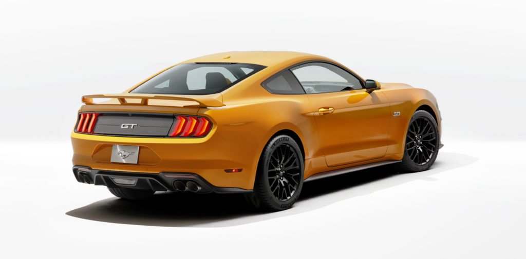 ford, mustang, ford mustang, mustang gt, magneride, ecoboost, 2.3-litre ecoboost, v8, 5-litre v8, 10-speed, 10-speed automatic, 10-speed transmission, 10-speed automatic transmission pic4
