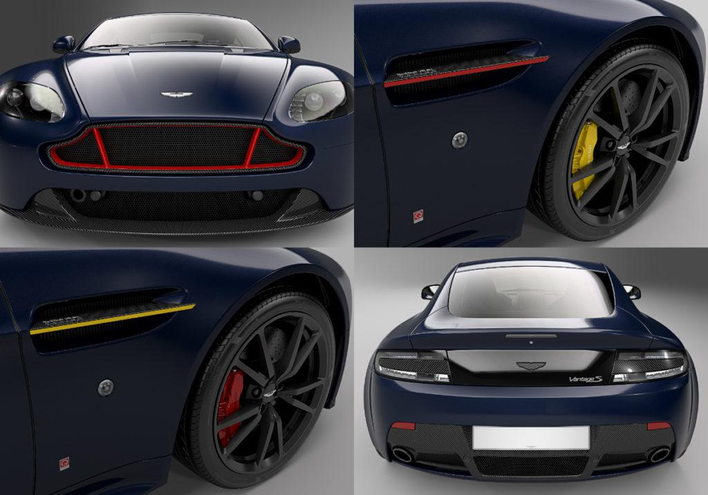 Aston Martin Vantage S Red Bull Racing Editions Torque