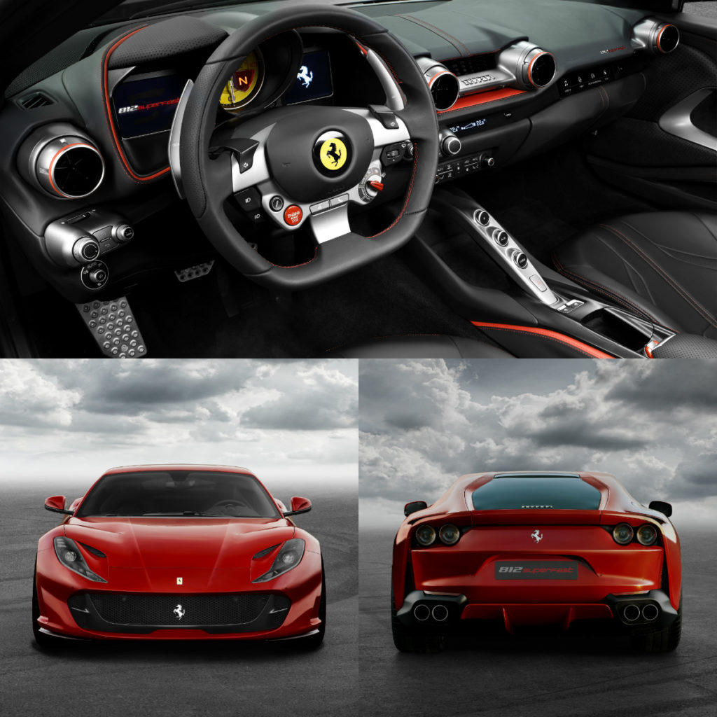 Ferrari 812 Superfast: Ferrari 812 Superfast Is An Extreme-performance V12