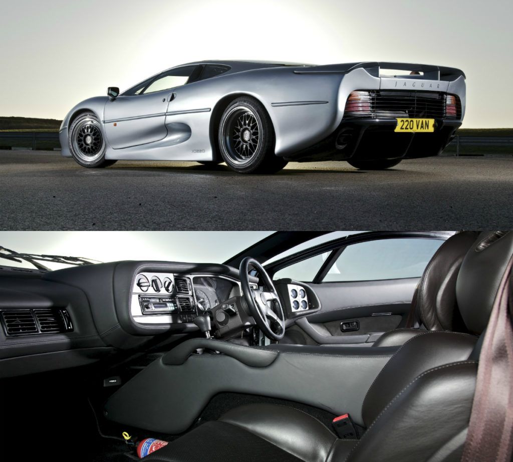 Jaguar XJ220 Turns 25 Years Old In 2017