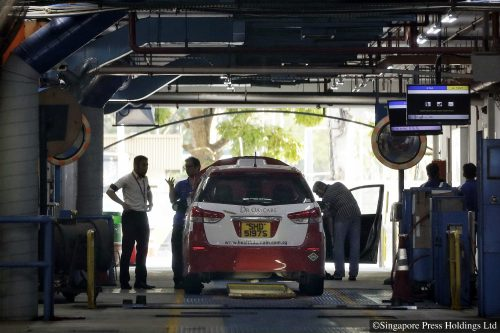 private vehicle inspections resume from June 8, 2020