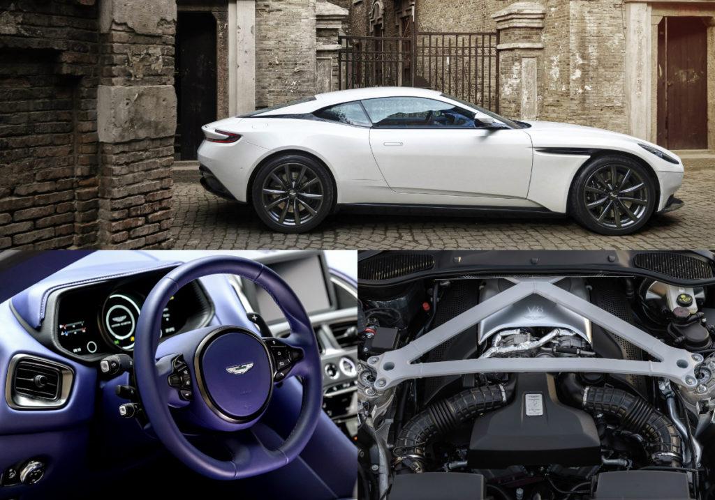 Aston Martin Db11 Gets 4 Litre Twin Turbo V8 Engine Torque