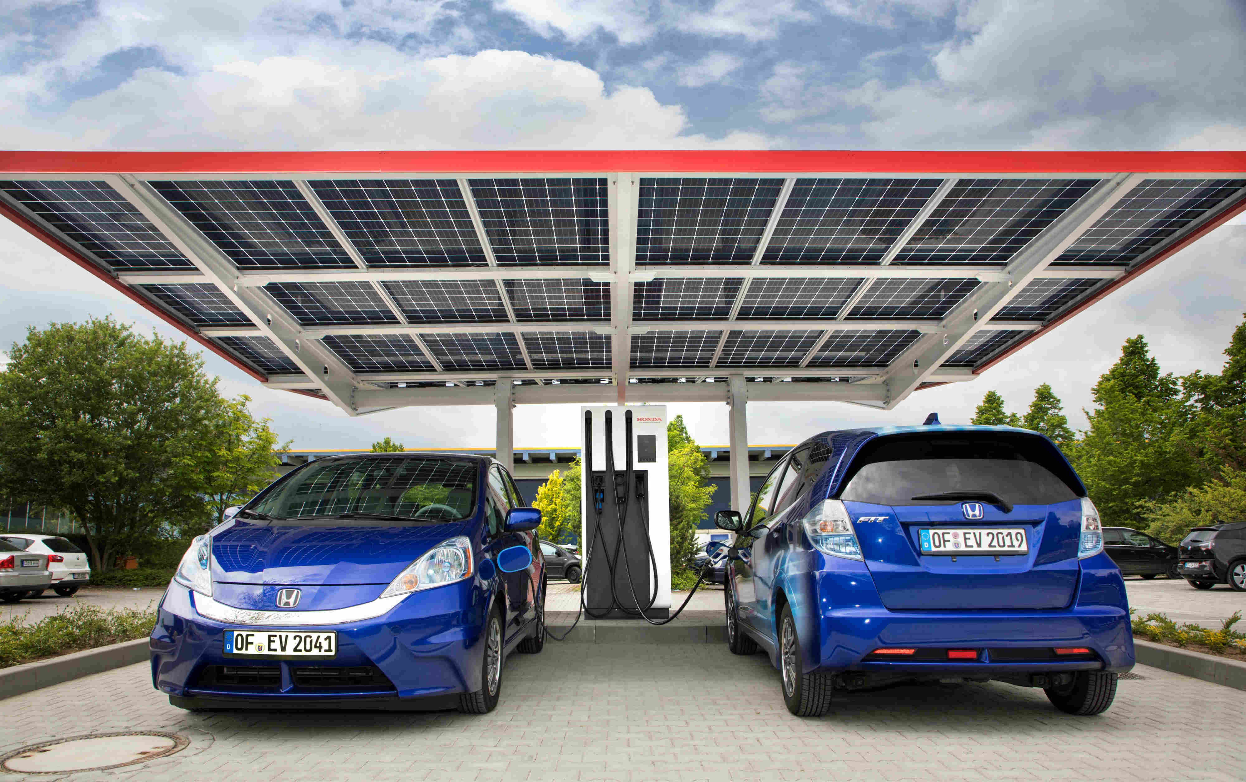 Europe S Most Advanced Public Charging Station For