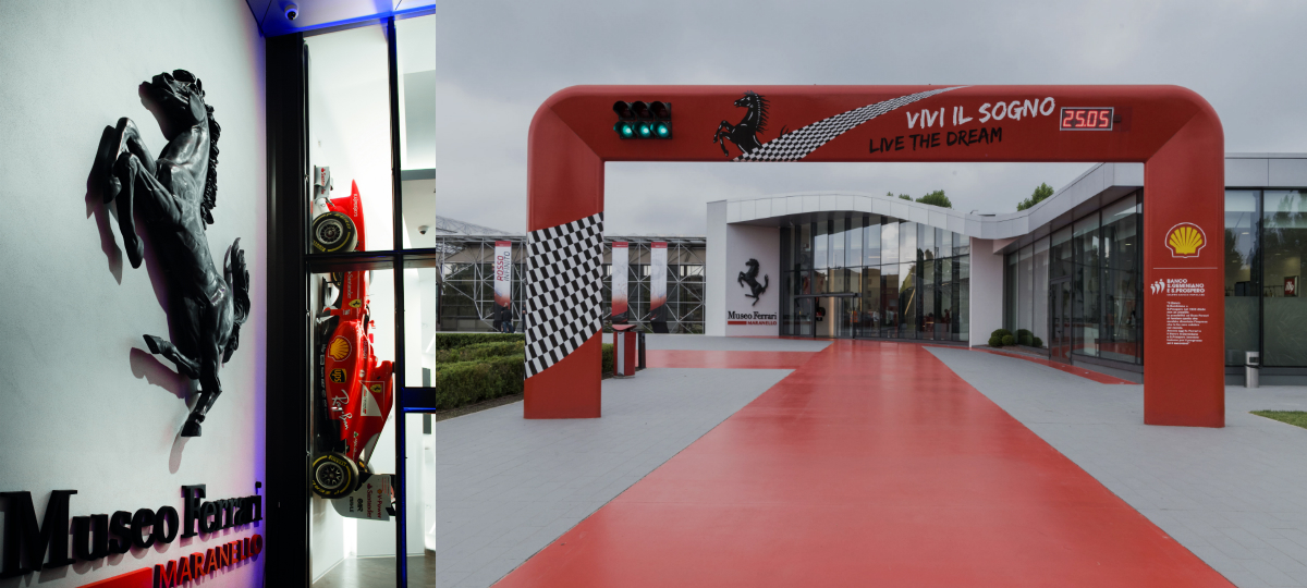 ferrari museum in maranello expands and opens two new exhibitions torque. Black Bedroom Furniture Sets. Home Design Ideas