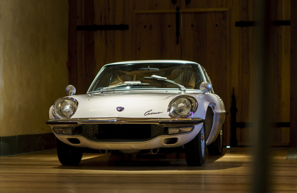 Mazda Launched Its Rotary Powered Cosmo Sport 50 Years Ago