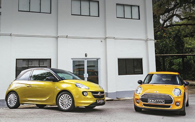 Group Test: Opel Adam 1 4 vs MINI One 1 2 | Torque
