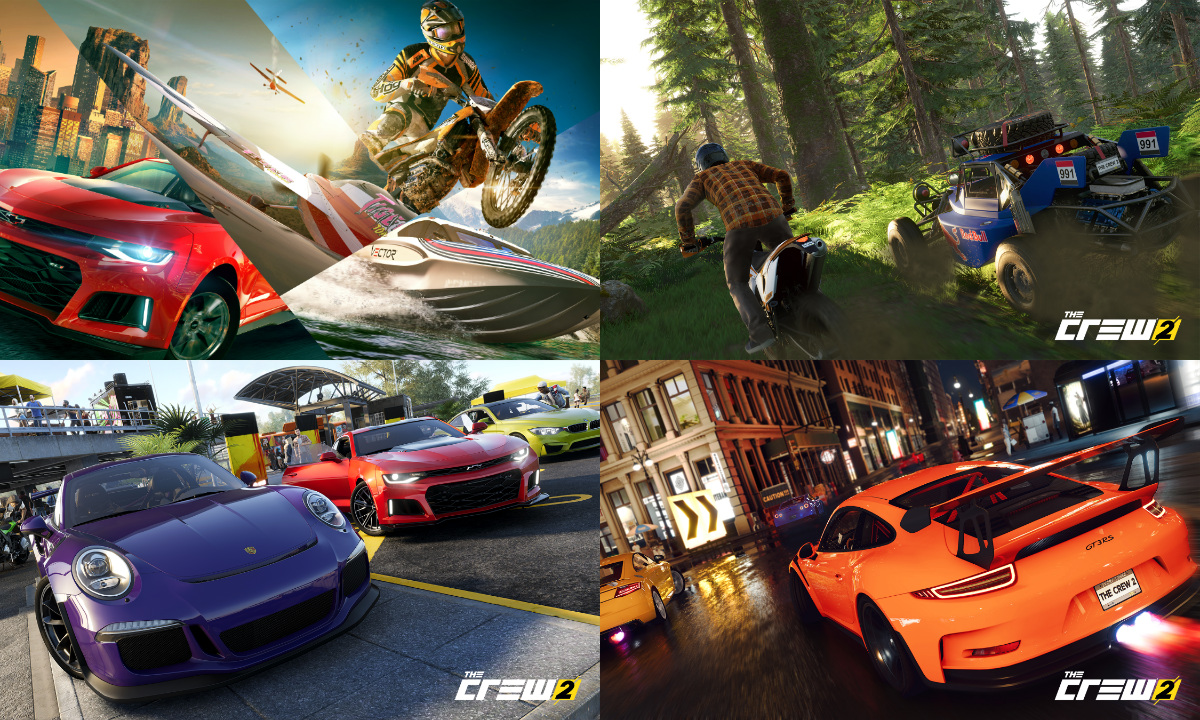 39 the crew 2 39 takes the open world driving game genre to. Black Bedroom Furniture Sets. Home Design Ideas
